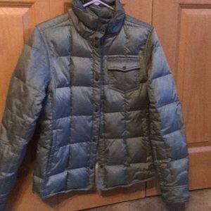 Woman's medium Eddie Bauer packable down jacket
